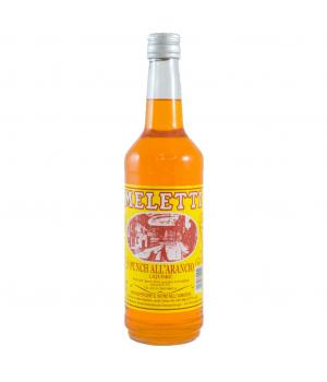 PUNCH arancio Meletti liquore da bere liscio o bollente