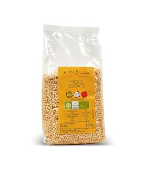 MIGLIO decorticato soffiato Alma Food Bio senza glutine