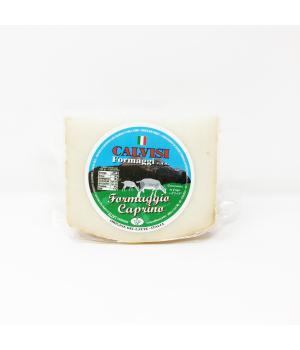 il CAPRINO Calvisi formaggio di latte caprino pasta morbida sapore deciso