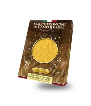 MACCHERONCINI IGP Carassai Pasta all'uovo di Campofilone altissima qualità