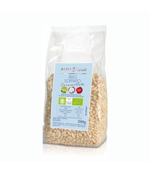 RISO SOFFIATO al caramellato Alma Food Riso Integrale Bio senza glutine