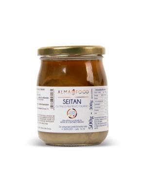 SEITAN Alma Food  glutine di frumento Italiano salsa di soia