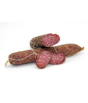 SALAMI ohne Schmalz Puzielli Typische italienische Wurst aus Schweinefleis