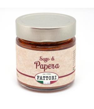 SUGO di PAPERA Fattori sugo pronto come fatto in casa pomodoro italiano