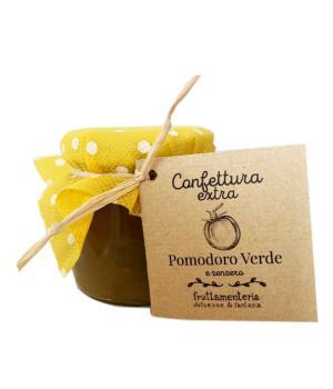 POMODORI verdi e zenzero Fruttamenteria confettura extra frutta italiana