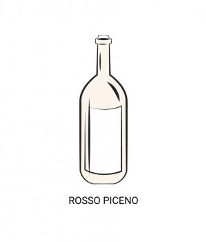 Rosso PICENO the best-selling wine of the MARCHE
