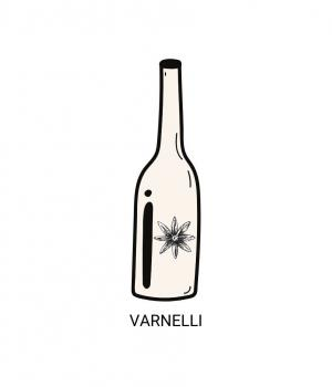 Anice VARNELLI special dry anise liqueur distilled in the Marche region