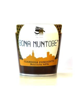 Bona Muntobe' gianduia Dolce Vita crema cioccolato artigianale spalmabile