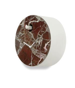 Cioni marmo rosso Levanto nuovo Orologio cucu  Domeniconi