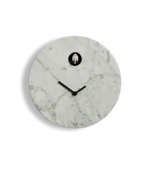 Cioni marmo di Carrara Orologio cucu a parete Domeniconi