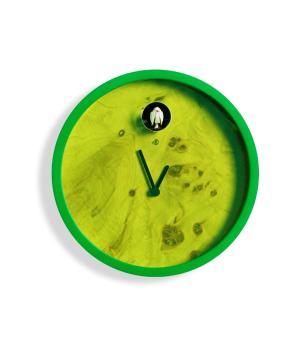 Dakar Fluo verde Domeniconi Orologio fluorescente con cucù