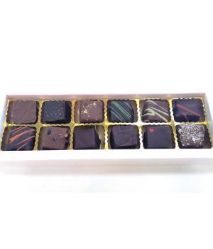 Cioccolatini misti artigianali Dolce Vita confezione 12 pezzi