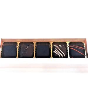 Cioccolatini misti artigianali Dolce Vita confezione 5 pezzi