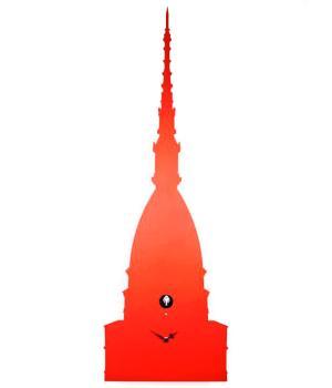Una MOLE di CUCU rosso Orologio a parete Diamantini Domeniconi