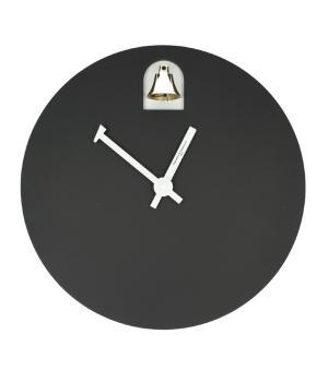 DINN nero Diamantini Domeniconi Orologio con campanella