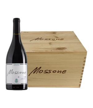 6 bottiglie MOSSONE Santa Barbara rosso Marche IGT in cassa di legno