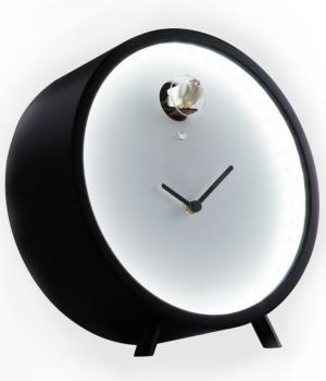 PLEX LED 211TL nero Orologio da appoggio luminoso Diamantini Domeniconi