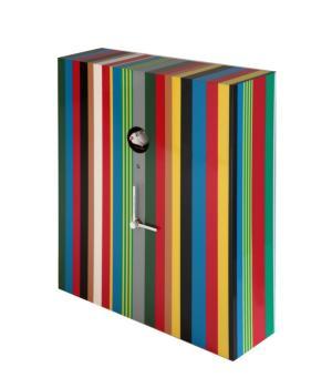 ARCOIRIS 223A multicolor Orologio a strisce a parete / appoggio