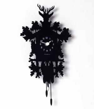 MIGNON nero Piccolo orologio design
