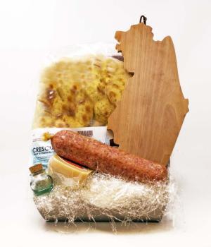Idea regalo KIT panino W LE MARCHE idea aperitivo per 4 persone