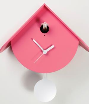 TITTI 2077 rosa Nuovo orologio cucu e pendolo
