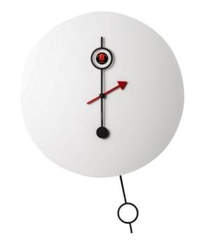 CI PASSO bianco Straordinario orologio a cucu Diamantini Domeniconi