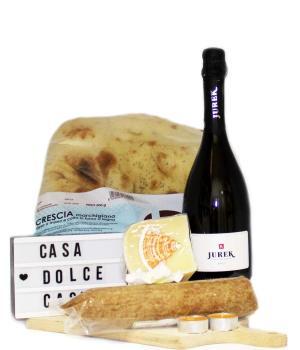 Giardino box aperitivo di prodotti gourmet marchigiani idea pic-nic