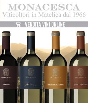 la MONACESCA selezione 6 vini di alta qualità della cantina marchigiana