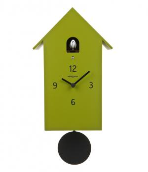 ZUBA verde duchamp moderno orologio a cucu x arredo zone living
