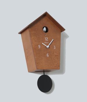 MERIDIANA 233 ciliegio Nuovo orologio a cucu e pendolo