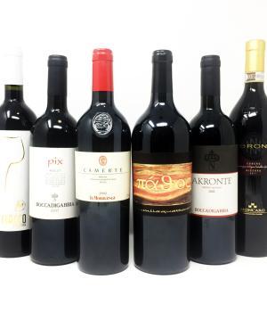 VINTAGE di.. MARCA selezione di 6 ottimi vini rossi di annata