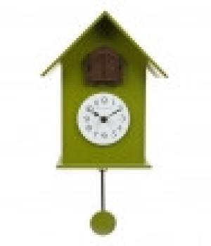 216 verde duchamp Domeniconi orologio con pendolo e cucu