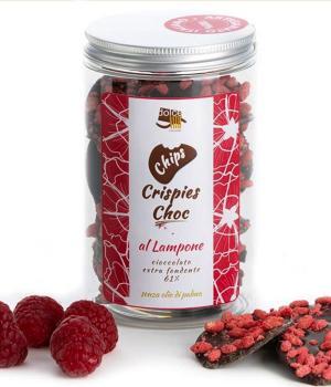 Chips Crispies Choc lampone Dolcevita Cioccolato fondente riso soffiato