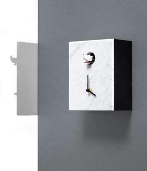 PORTOBELLO weiß Carrara marmor zifferblatt - UHR mit Kuckuck Diamantini Domenic