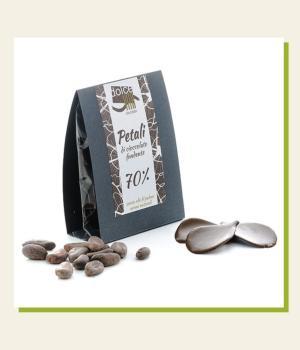 Petali di Cioccolato Fondente 70% Dolce Vita