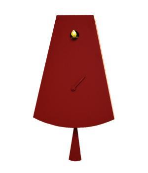 ICONA 226L rosso glitter Moderno orologio cucu