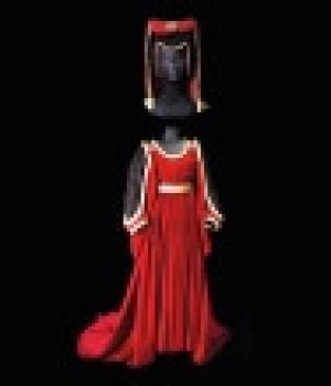 Abito con cappello Arianna sartoria teatrale