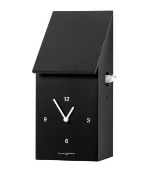 HALF TIME nero Sorprendente orologio a cucu da tavolo e da parete