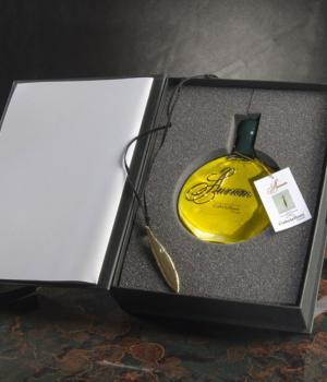 AURUM Mignola Gabrielloni  cofanetto olio + Swarovski + foglia oro