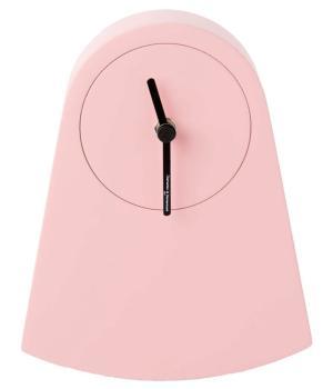 IPNO pastel pink Rocking Mantel Clock Diamantini Domeniconi