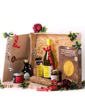 INTRIGANTE pacco enogastronomico con specialità marchigiane Idea regalo