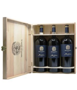 MIRUM La Monacesca 3 bottles white wine Verdicchio di Matelica DOCG