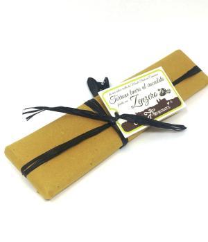 TORRONE cioccolato/zenzero Mandorlato tenero ricoperto e farcito