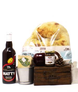 Il Vettore kit picnic montagna da portare nello zaino selezione gourmet