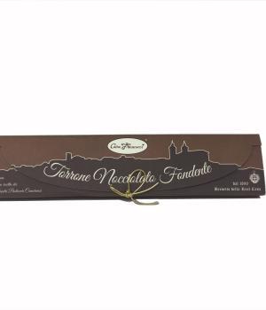 NOCCIOLATO fondente Casa Francucci torrone cioccolato e nocciole