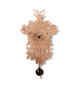 MIGNON ricoperto in foglia rame Piccolo orologio design