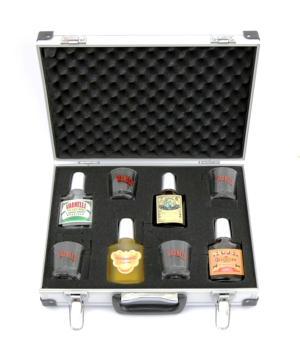 Valigetta regalo mix Varnelli e 4 bicchieri di cristallo RCR