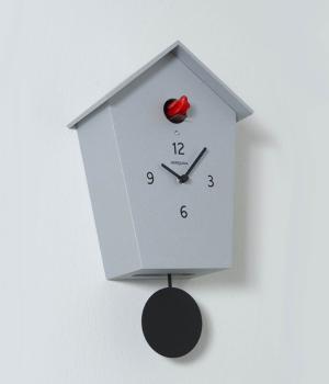 MERIDIANA 233 alluminio Nuovo orologio a cucu