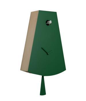 ICONA 226L verde Moderno orologio cucu elegante in perfetto stile Italiano