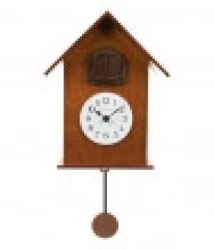 216 legno ciliegio Orologio pendolo e cucu